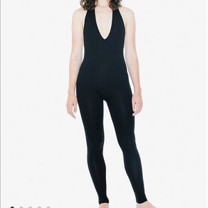NUDE American Apparel Spandex Catsuit Size Med